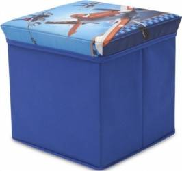 Taburet si cutie depozitare jucarii Disney Planes Mobila si Depozitare jucarii