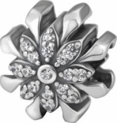 Talisman Selene Silver Flower Talismane
