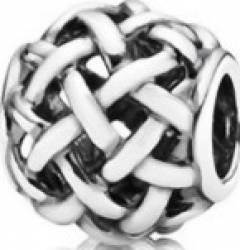 Talisman Selene Silver Plaiting