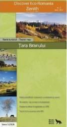 Tara Branului - Harta turistica Carti