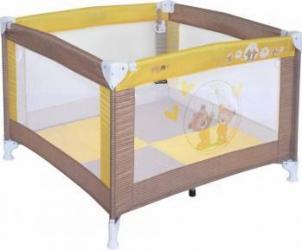Tarc de Joaca Play Beige & Yellow Daisy Bears Spatii de joaca si accesorii