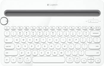 Tastatura Bluetooth Multi-Device Logitech K480 Alba Tastaturi