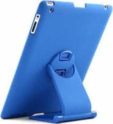 Tastatura Bluetooth Tableta Tehsino 360 Rotative Apple iPad 2 3 4 Blue Keyboard Dock
