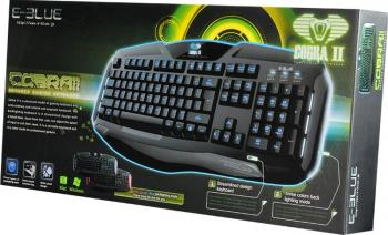 Tastatura E-Blue Cobra II Advanced Gaming iluminare LED Tastaturi Gaming