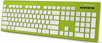 Tastatura Esperanza EK130G rezistenta la apa Verde Tastaturi