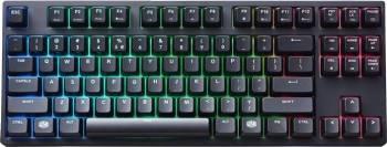Tastatura Gaming Mecanica Cooler Master MasterKeys Pro S RGB Cherry Mx Brown Tastaturi Gaming