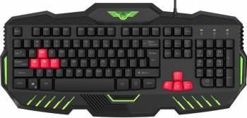 Tastatura Gaming Newmen KB-810U Negru