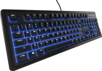 Tastatura Gaming SteelSeries Apex 100 USB Black Tastaturi Gaming
