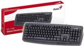 Tastatura Genius KB-110X USB Neagra Tastaturi