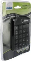Tastatura numerica 4World Super mini USB Neagra