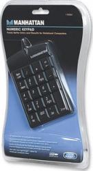 Tastatura Numerica Manhattan USB Neagra Tastaturi numerice