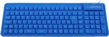 Tastatura silicon Esperanza EK126B Albastru Tastaturi