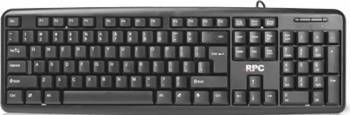 Tastatura Standard RPC P615US PS2 US Layout Neagra