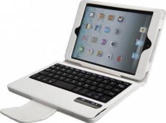 Tastatura Tableta QwertyPad 933 pentru iPad Mini Bluetooth White