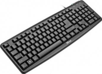 Tastatura Trust ClassicLine USB Black Tastaturi