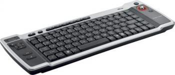 Tastatura Trust Wireless Entertainment Trackball