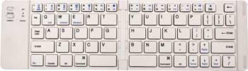 Tastatura Wireless Pliabila Star FK228 Bluetooth Alba Tastaturi
