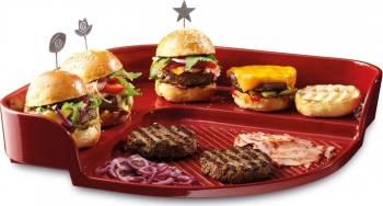 Tava burgeri - Emile Henry Vase pentru gatit