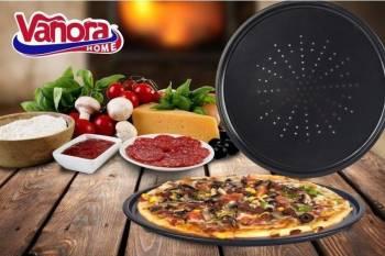 Tava pizza perforta 32x1cm Vase pentru gatit