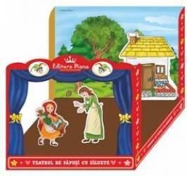 Teatru de papusi integral Scufita Rosie