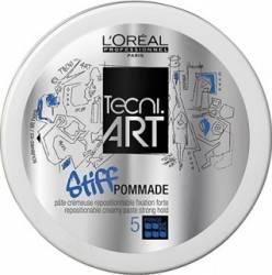 Crema de par LOreal Professionnel Tecni.Art Stiff Pommade 75ml Crema, ceara, glossuri