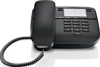 Telefon analogic Gigaset DA310 Black Telefoane