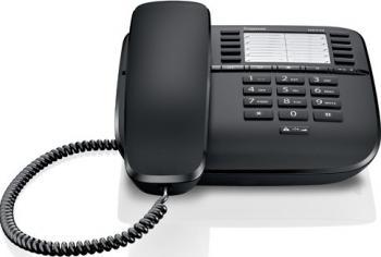 Telefon analogic Gigaset DA510 Black Telefoane