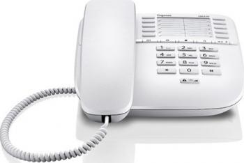 Telefon analogic Gigaset DA510 White Telefoane