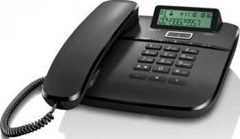 Telefon analogic Gigaset DA610 Black Telefoane