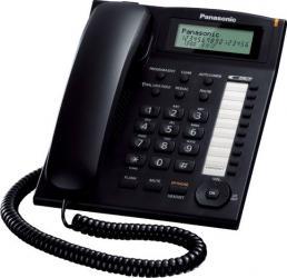 Telefon analogic Panasonic cu caller ID KX-TS880FXB Negru Telefoane