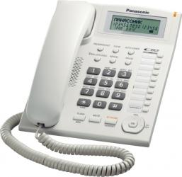 Telefon analogic Panasonic cu caller ID KX-TS880FXW Alb Telefoane