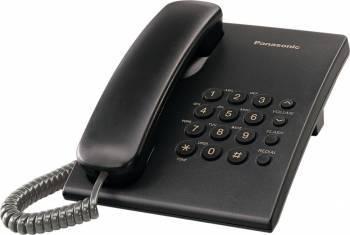 Telefon analogic Panasonic KX-TS500 Negru Telefoane