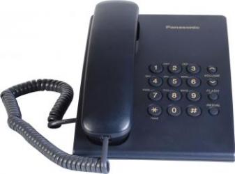 Telefon analogic Panasonic KX-TS500FXC Indigo Telefoane