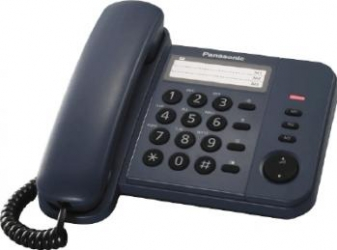 Telefon analogic Panasonic KX-TS520FXC Negru Telefoane