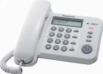 Telefon analogic Panasonic KX-TS560FXW Telefoane