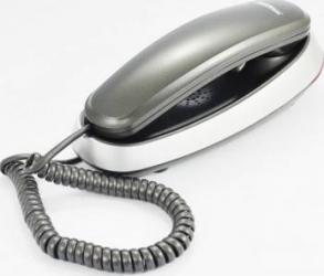 Telefon cu fir MaxCom KXT650 Graphite Silver Telefoane