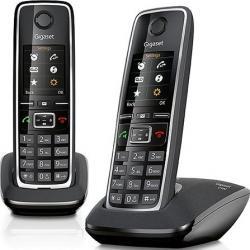 Telefon DECT Gigaset C530 Duo Negru Telefoane