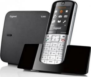 Telefon DECT Gigaset SL400 Negru
