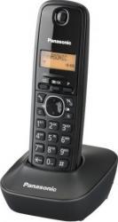 Telefon DECT Panasonic KX-TG1611FXH Negru Telefoane
