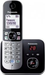 Telefon DECT Panasonic KX-TG6821FXB cu robot telefonic