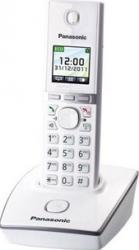 Telefon DECT Panasonic LCD color alb KX-TG8051FXW Telefoane