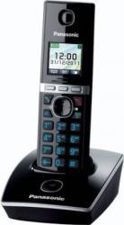 Telefon DECT Panasonic LCD color negru KX-TG8051FXB Telefoane