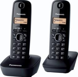 Telefon DECT Panasonic Negru KX-TG1612FXH Telefoane