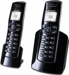 Telefon Dect Sagemcom D150 Duo Negru Telefoane