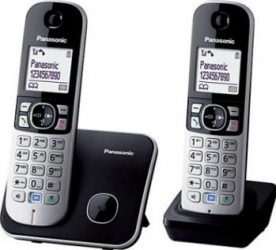 Telefon DECT TWIN Panasonic KX-TG6812FXB Telefoane