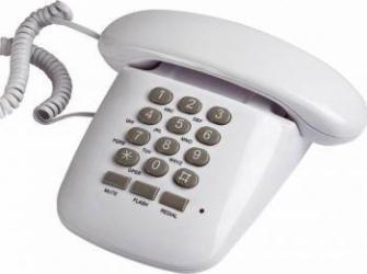 Telefon fix Brondi Sirio Alb Telefoane