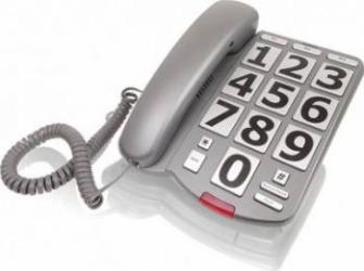 Telefon Fix Profoon TX-105 cu Butoane Mari si Semnalizare Luminoasa Telefoane