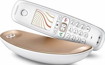 pret preturi Telefon Gigaset CL750 Sculpture Alb