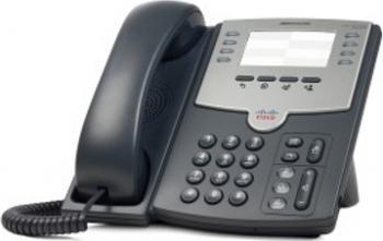 Telefon IP Cisco SPA501G cu PoE si PC Port Telefoane