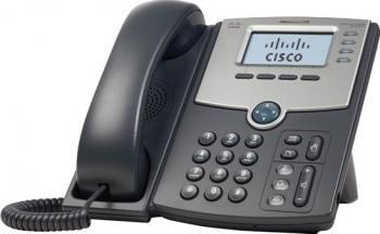 Telefon IP Cisco SPA509G cu Display PoE si PC Port Telefoane
